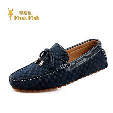 Buy Fhesfish <b>custom</b> mens lace casual shoes leather driving shoes ...
