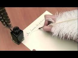 Introduction to <b>Feather Quill Pens</b> - YouTube