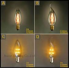 vinage e14 incandescent bulbs modern 2016 new led beads candle bulbs decoration shop home silver pendant candle decorative modern pendant lamp
