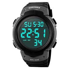 Skmei Men Outdoor Sports Military LED Digital Watch ... - Amazon.com