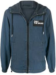 <b>Diesel</b> '<b>Only The Brave</b>' Hooded Denim Jacket Ss20 | Farfetch.Com