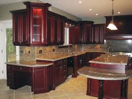 painted kitchen cabinets walls cherry