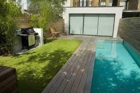 Small Picture Lane swimming pool and contemporary garden designed and built by