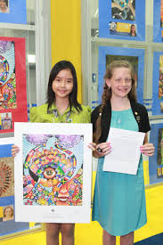 lci update peace poster and essay contest winners meet lions supporting