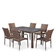 <b>Комплект мебели</b> 6+1 <b>AFINA GARDEN</b> T51A/Y376-W773-150x85 ...