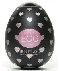 Мощный <b>мастурбатор</b> в форме <b>яйца</b> Tenga Egg Lovers black