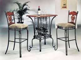 Where to buy <b>3 Piece Bar</b> Table Set with Wine Rack Base Bar Table ...