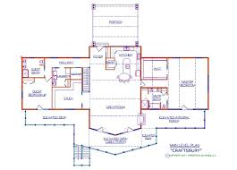 Craftsbury Log Floor Plan   Log Cabin   sq  ft › Expedition       sq ft  Craftsbury Floor Plan by Expedition Log Homes  Craftsbury Main Level