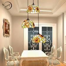 Tiffany art deco modern glass pendant light <b>LED</b> E27 Europe ...
