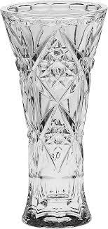 """<b>Ваза</b> """"<b>Crystal Bohemia</b>"""", цвет: прозрачный, высота 20 см — купить ..."""