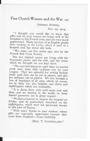faith belief and superstition the british library letter from a nurse working in brittany in 1914 the letter was reprinted in