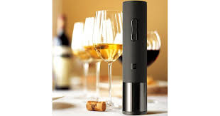 <b>huohou</b> Creative <b>Wine Electric Bottle</b> Opener-Black - Matt Blatt