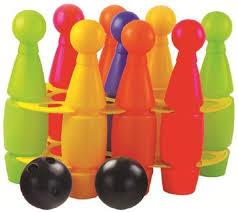 Игровой набор <b>Zebratoys Кегли</b> средние 9+2 мяча купить в ...