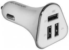 Купить <b>автомобильное зарядное устройство Defender</b> 83566 ...