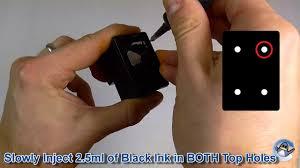 How to <b>Refill</b> HP 302, HP 304 & HP <b>62</b> Black <b>Ink Cartridges</b> - YouTube