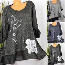 <b>Chic</b> Women Fashion O Neck <b>Long Sleeve Solid</b> T-shirt Top-buy at a ...