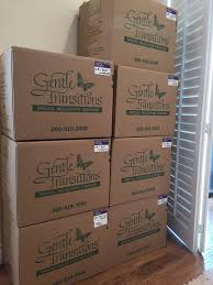 senior moving tips archives neatly labeled boxes during a gt move