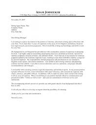 cover letter for a law firm template cover letter for a law firm