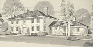 s Colonial Home House Plans Colonial House Designs  colonial     s Colonial Home House Plans Colonial House Designs