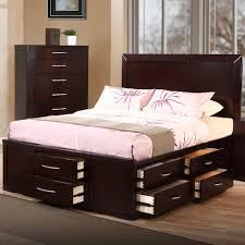 King Size Bedroom Sets Modern Napoli Modern Platform Bed Creamblack King Com With Size Bedroom