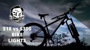 <b>MTB Lights</b> for Night Riding - $300 vs $18 - YouTube