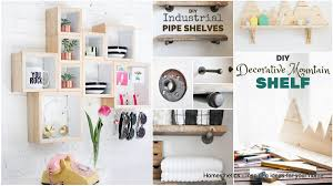 19 beautiful easy diy shelves to build at home beautiful build home
