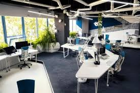 attractive office set up like a space ship amazing office space set