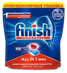 Купить <b>Таблетки</b> для посудомоечной машины <b>Finish</b> All in 1 Max ...