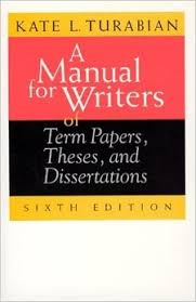 Amazon com  A Manual for Writers of Term Papers  Theses  and     A Manual for Writers of Term Papers  Theses  and Dissertations   th Edition  Chicago Guides to Writing  Editing  and Publishing