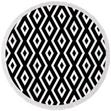 Round Beach Towels - Christina Rollo