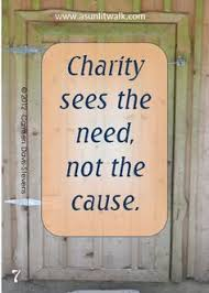 Image result for giving charity to help someone