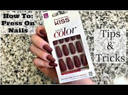 How To Apply <b>Fake Nails</b> (Tips to make it easy!) | Make it Fancy ...
