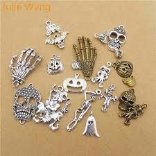 <b>Julie Wang</b> 5pcs Mixed Halloween Pumpkin Skull Ghost Clown ...