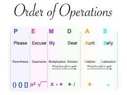 math 6th weekly updates powered by oncourse systems for education image result for order of operations image result for order of operations