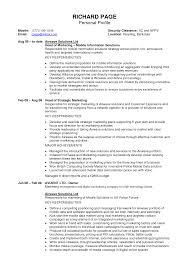 doc 7601075 career profile examples for resume template it resume profile examples profile section of resume examples it