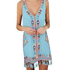 Minikoad-Dresses Fashion <b>Cotton</b> Bohemia Dress,<b>Women Tassel</b> ...