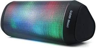 Portable Wireless Bluetooth Speakers 7 LED Lights ... - Amazon.com