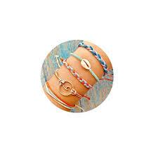 Amazon.com: FINETOO Wave <b>Rope</b> Bracelet Set <b>Handmade</b> Woven ...
