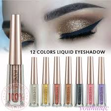COD 100% ORI <b>HANDAIYAN 12 Color</b> Cream Glitter <b>Liquid</b> Sequin ...