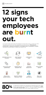 burnout warning signs for techies click here to open this infographic in a new window