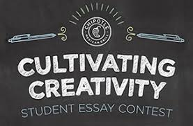 chipotle launches cultivating creativity student essay contest  chipotle essay contest logo galleycat