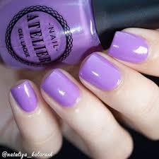 Мой любимый сиреневый #<b>VivienneSabo Nail</b> Atelier 02 для ...