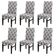 Home, Furniture & DIY UK <b>Stretch Chair Covers</b> Slipcovers Dining ...