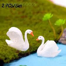 <b>2PCS</b>/<b>Set</b> DIY Crafts Statue Fairy Garden Ornaments Micro ...