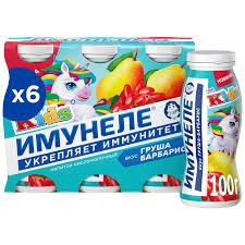 Купить <b>Напиток</b> кисломолочный <b>Neo Имунеле</b> for Kids Груша ...