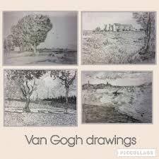 <b>Vincent Van Gogh's</b> Drawings Inspire Lino <b>Printing</b> at Art Club