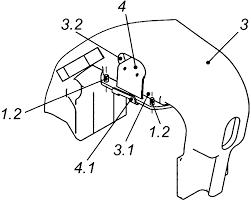RU157802U1 - Надбуксовая <b>накладка</b> для <b>боковой</b> рамы ...