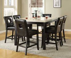 chair counter height dining room sets thejots net high tables and