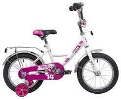 Купить Детский велосипед <b>Novatrack Urban 14</b> (2019) <b>белый</b> ...