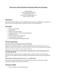 resume for administrative assistant skills   seangarrette coresume for administrative assistant skills  resume sample administrative assistant   letter amp resume